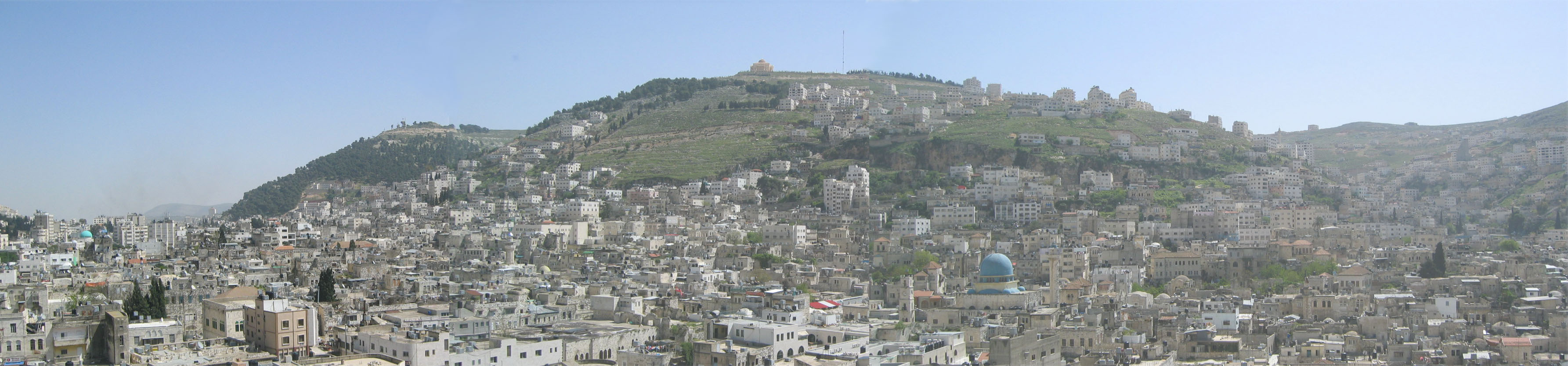 Nablus - نابلس : Panoramic view, click the picture to enlarge