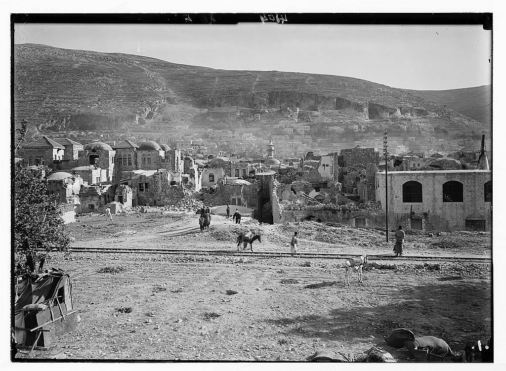 الزلزال الكبير عام 1927 Nablus-15700
