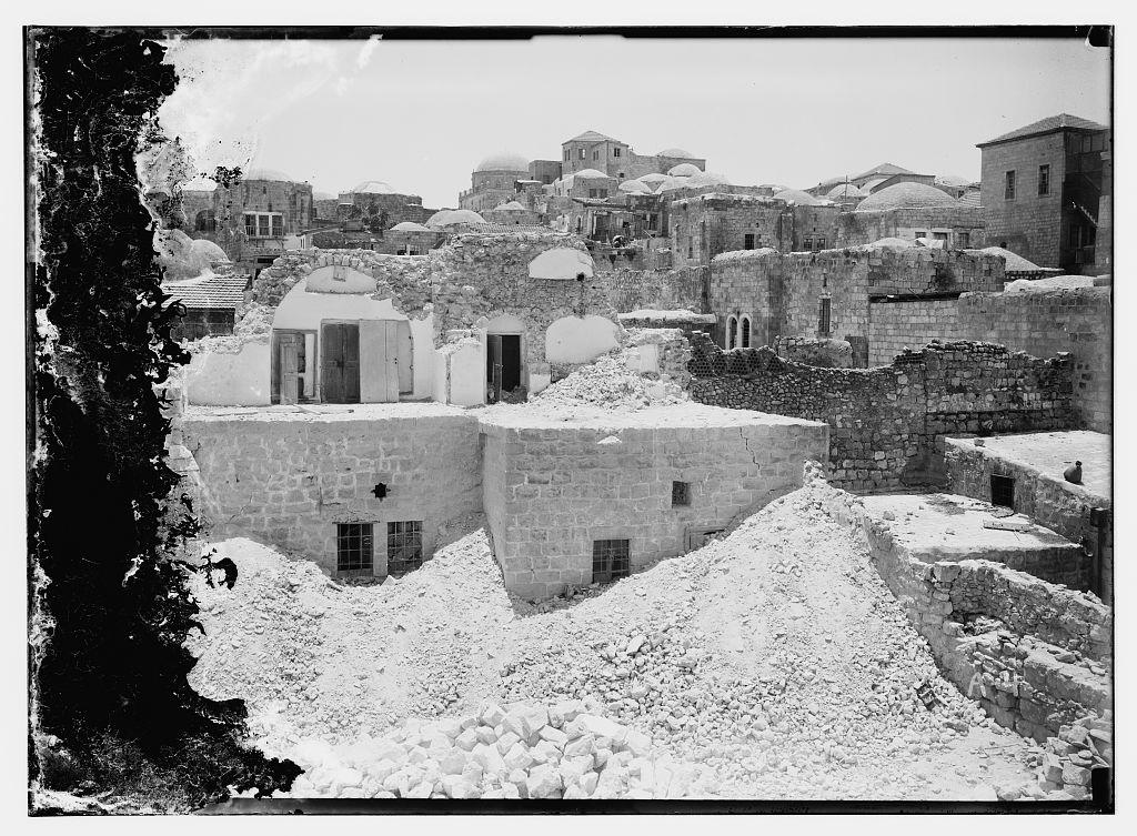 الزلزال الكبير عام 1927 Nablus-15702