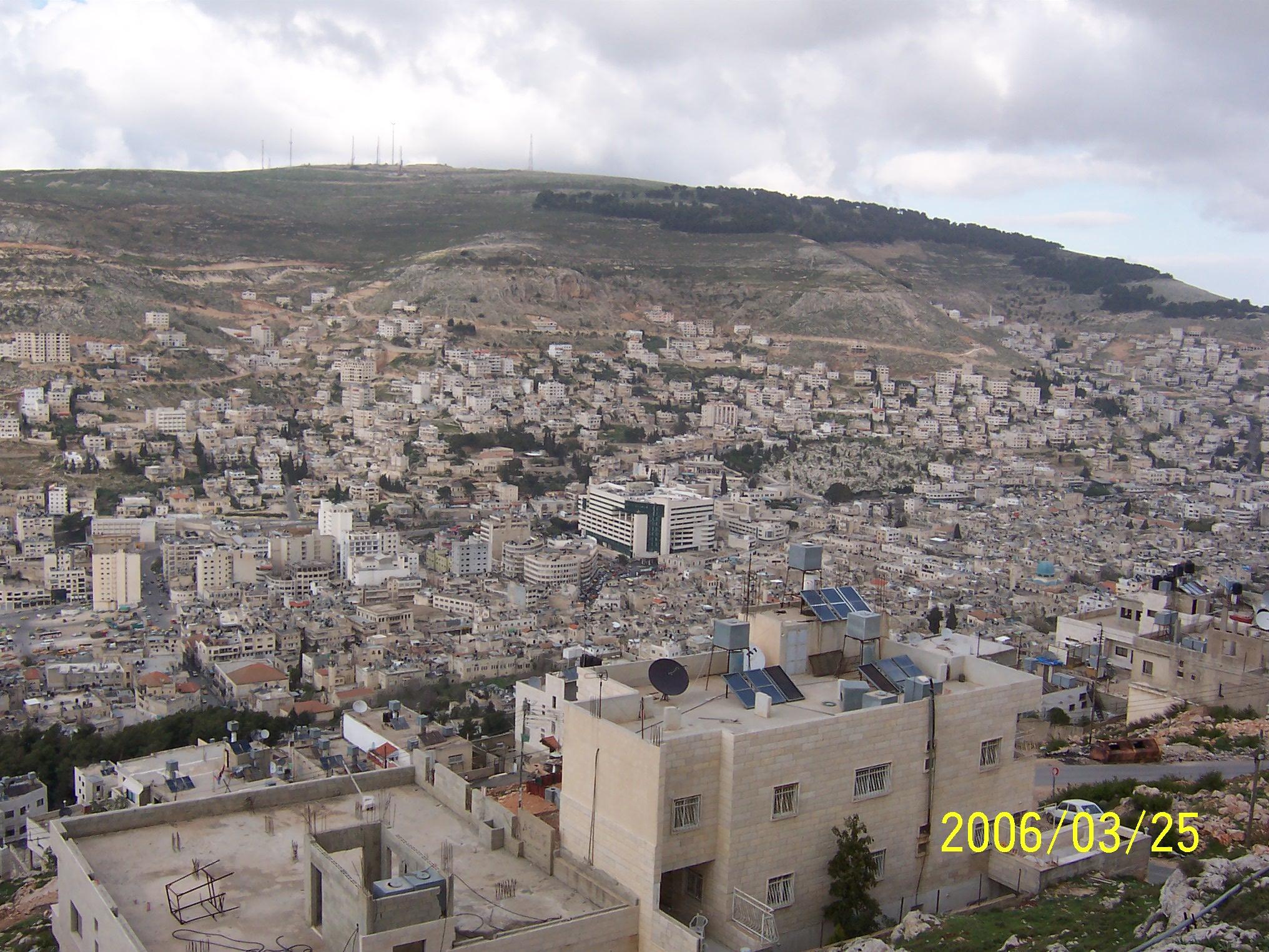 Nablus-Nablus: Nablus 2006 /53343 - Palestine Remembered