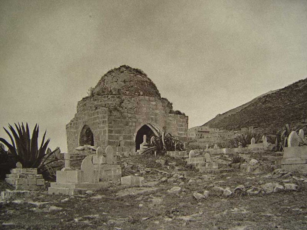 Nablus - نابلس : NABLUS - Late 19th, early 20th c. 25 - The old cemetery