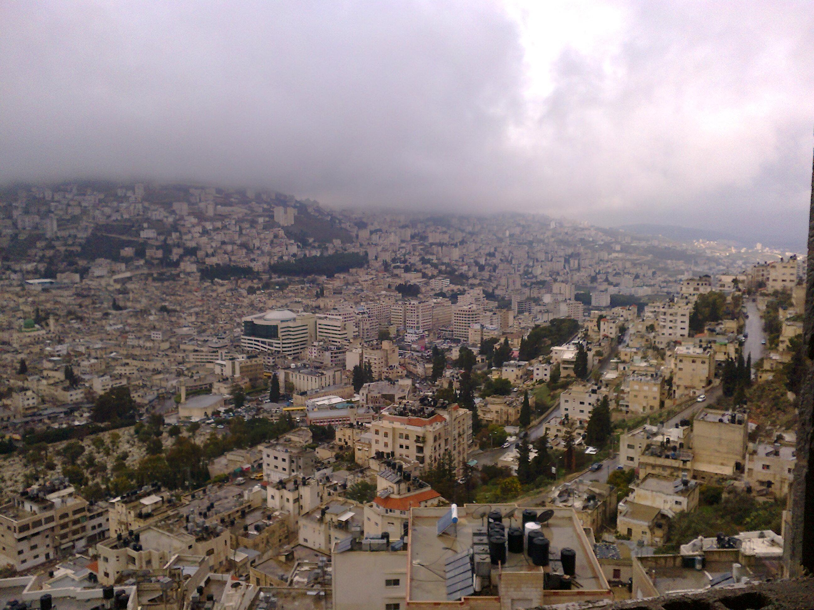 Nablus-Nablus: Nablus in winter 2012 /81514 - Palestine Remembered