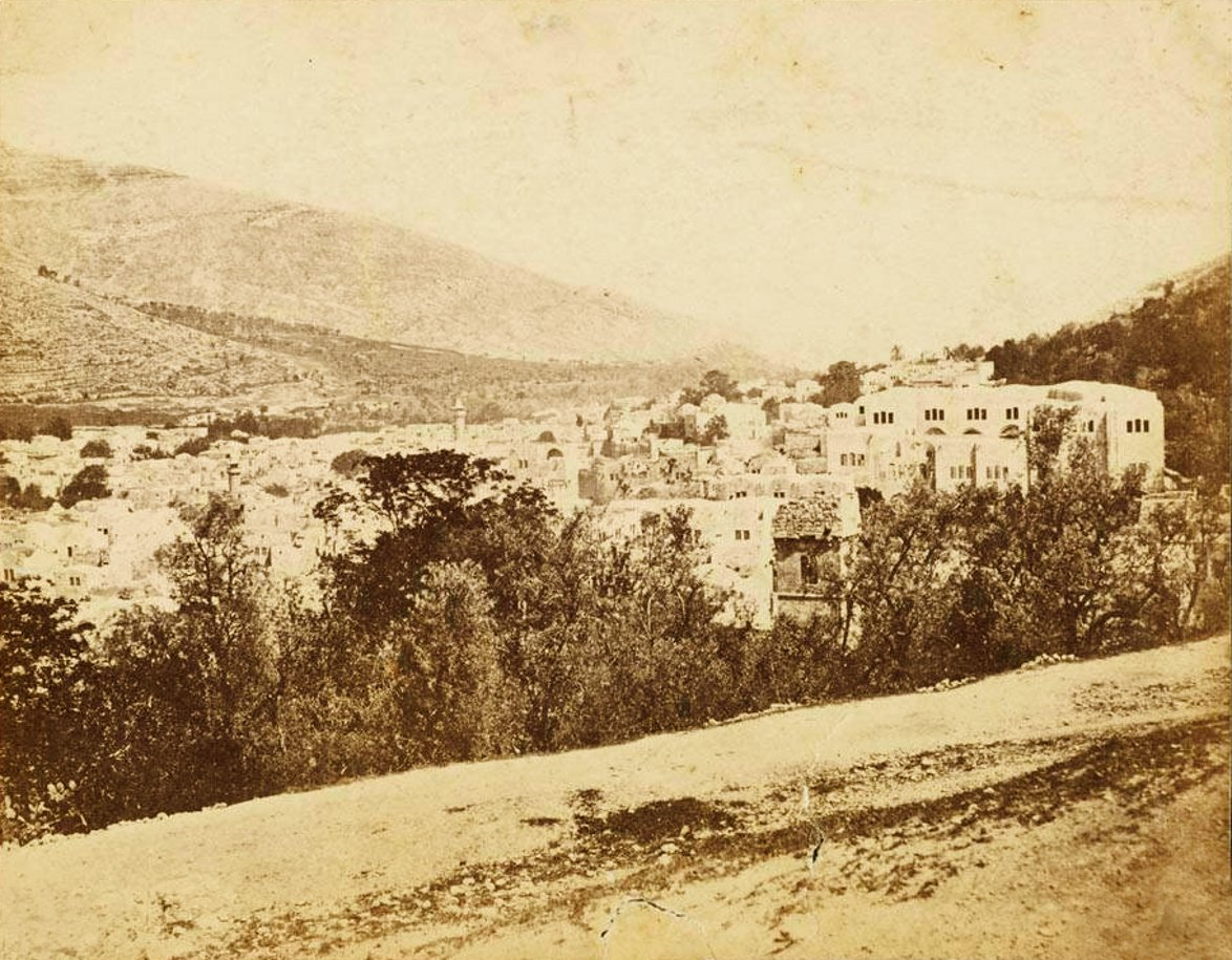 Nablus - نابلس : NABLUS - Late 19th, early 20th c. 77