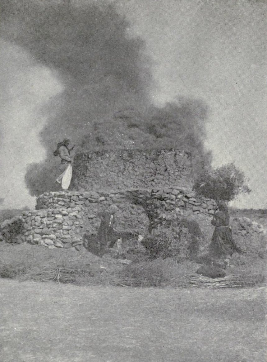 Nablus - نابلس : NABLUS - Late 19th, early 20th c. 127 - Lime kiln in northern Palestine, circa 1920s (Per Reem Ackall)