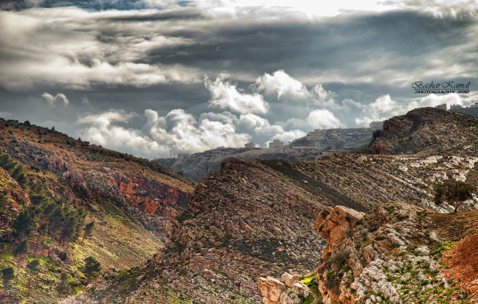 Nablus - نابلس : Beautiful Mountains-Nablus By Bashar Kamal