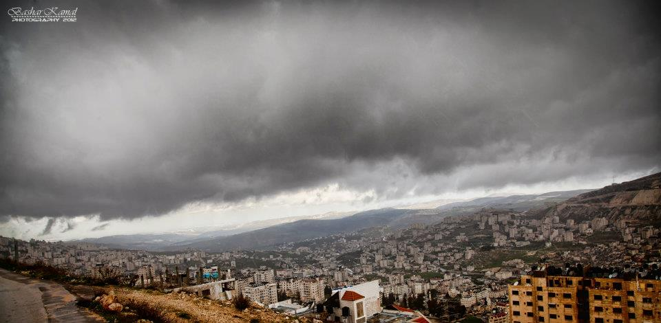Nablus - نابلس : Nablus Cloud- By Bashar Kamal