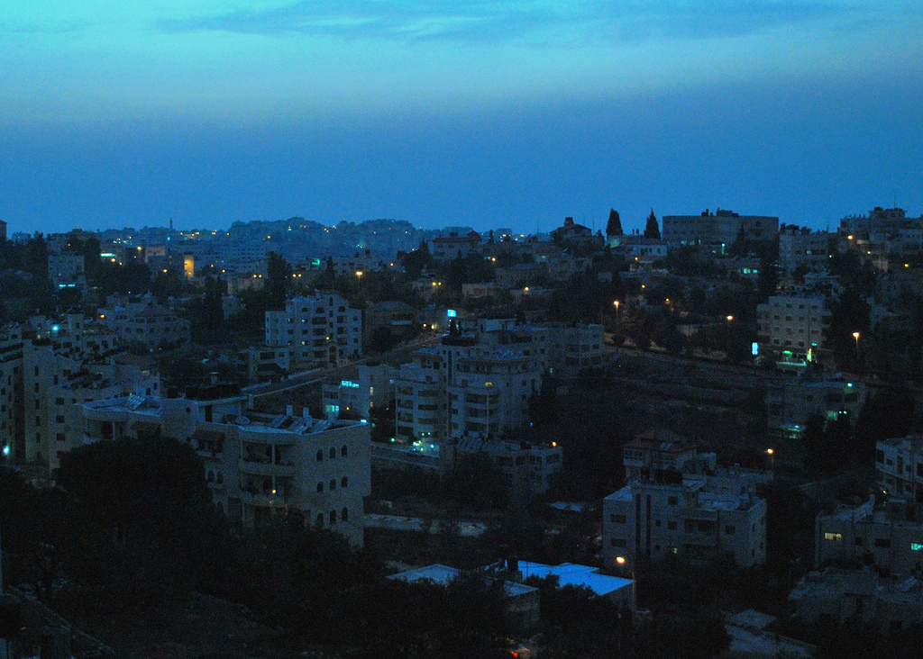 Ramallah - رام الله : A peaceful night in Ramallah