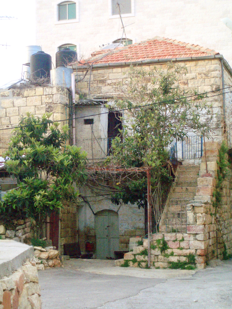 Ramallah - رام الله : Old house in Ramallah El-Tehta
