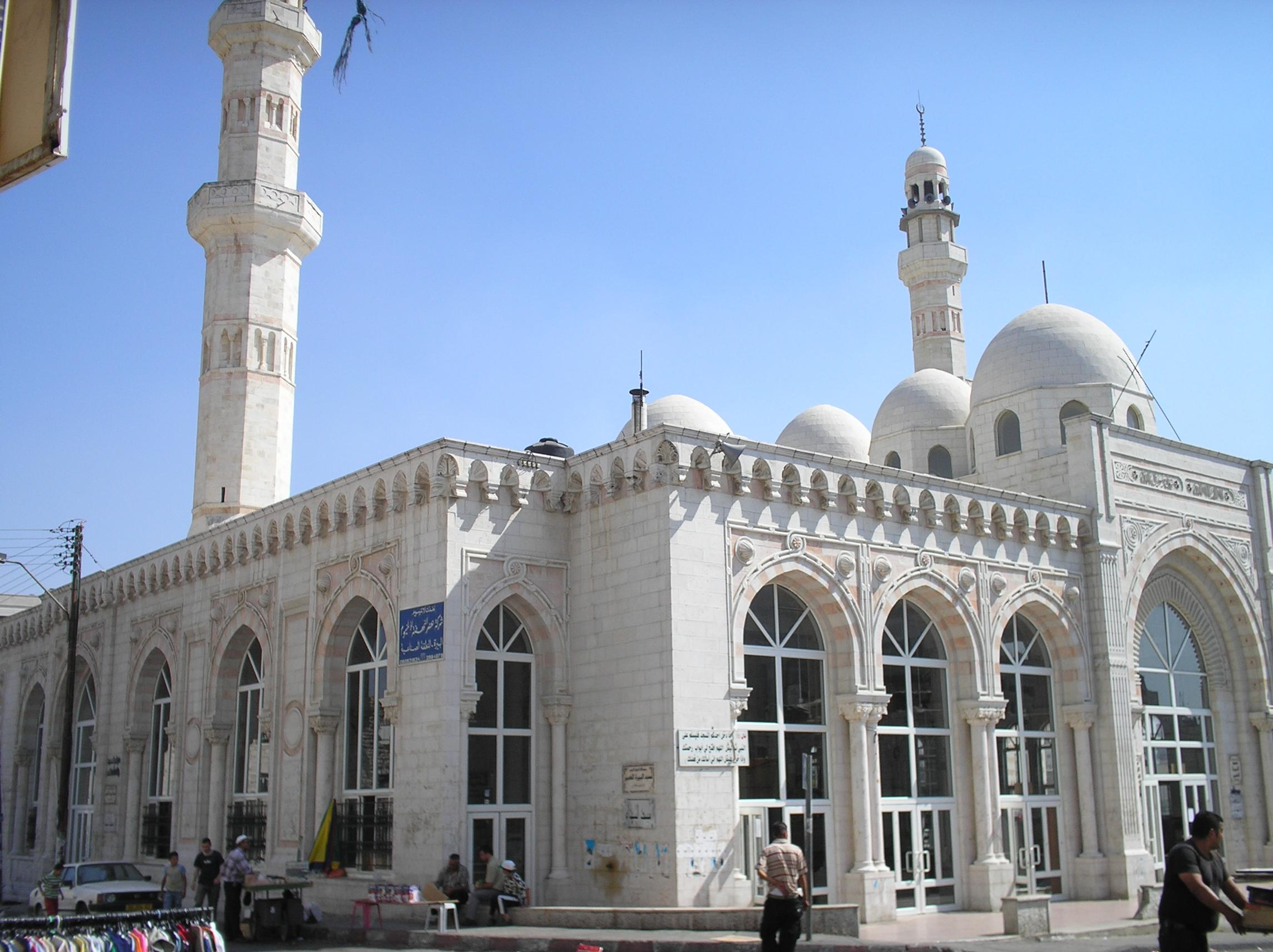 Ramallah - رام الله : Jamal Abdel-Naser's Mosque, named after the late Arab leader
