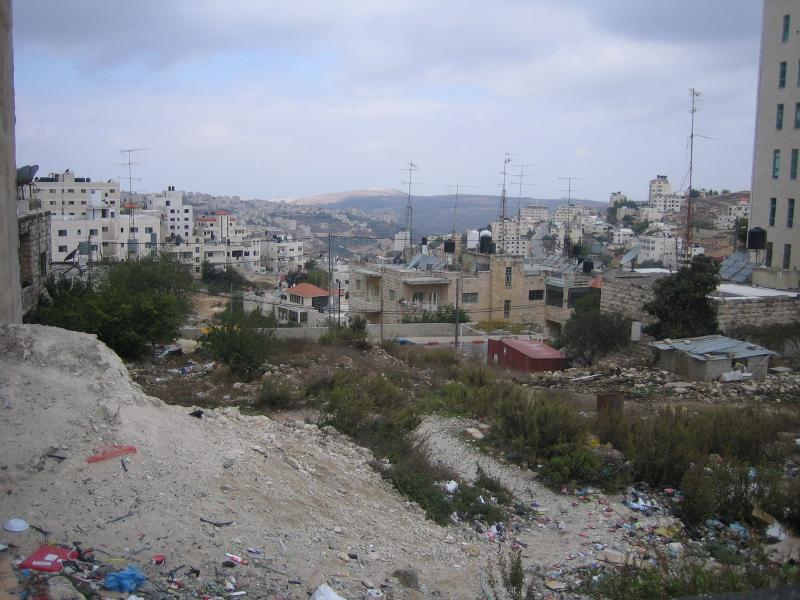 Ramallah - رام الله : A view to one of the neighborhoods (#5). Helps identify the location & direction of this picture in the below comments section