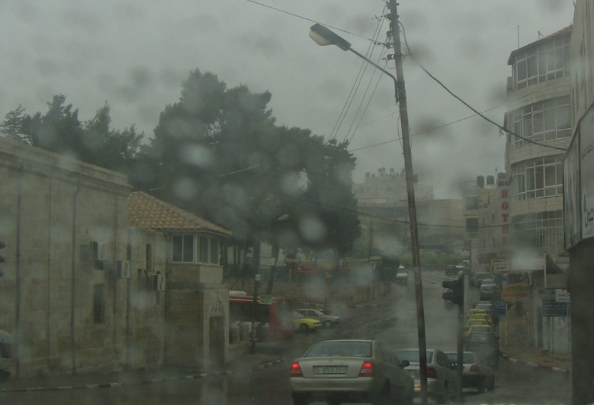 Ramallah - رام الله : Rainy day in Ramallah 3