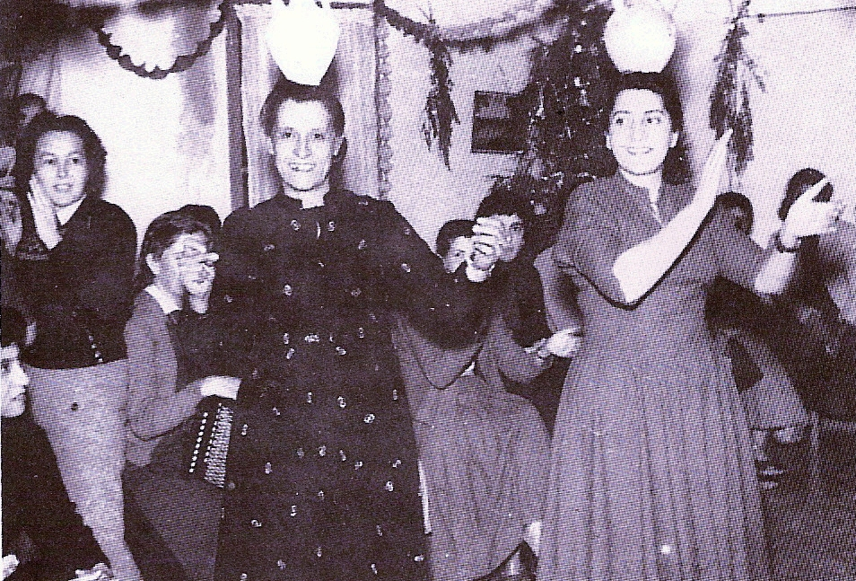 Ramallah - رام الله : RAMALLAH - The girl guides from Ramallah put on a Christmas party for the patients at the Muttala' Hospital in Jerusalem. Jan 4 1958 - Naseeb Shaheen's, A Pictorial History of Ramallah, 1992