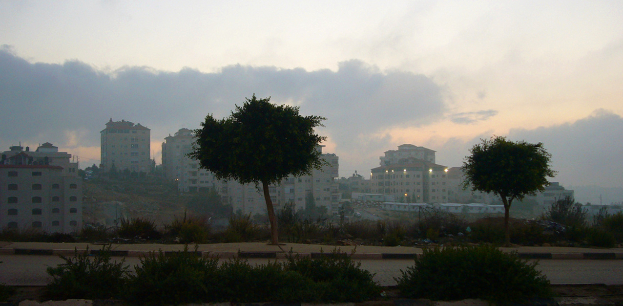 Ramallah - رام الله : Ramallah, as evening falls 2