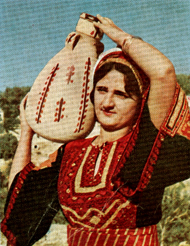 Ramallah - رام الله : Palestinian woman of Ramallah in the mid 60s (Al-3arabi Magazine) - 2 - www.ramallah.ps