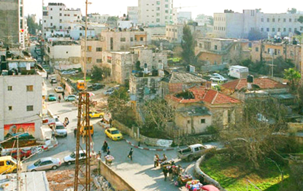 Ramallah - رام الله : Ramallah;  the strange beauty of chaos.