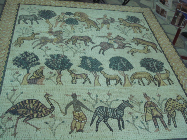 Zayta - زيتا  : Private Collection / Private Museum / Manna Family - Old Mosaic