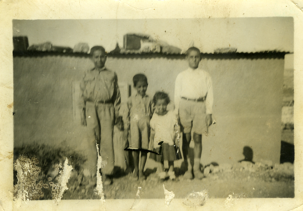 'Amari Refugee Camp - مخيّم الأمعري : Taken in the camp in 1955.