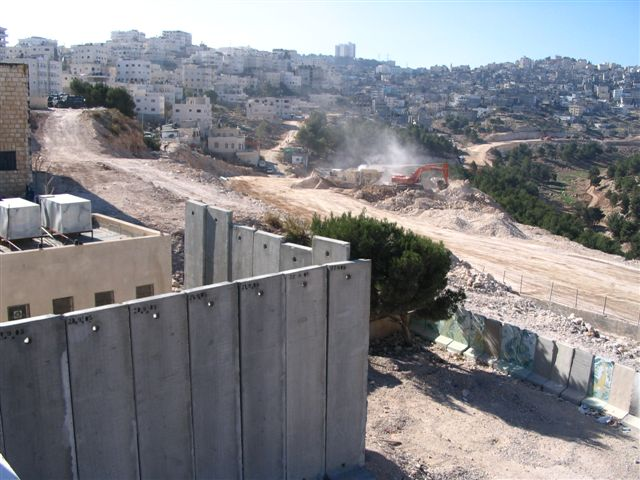 'Anata - عناتا : General view #3 in the path of the Apartheid Wall