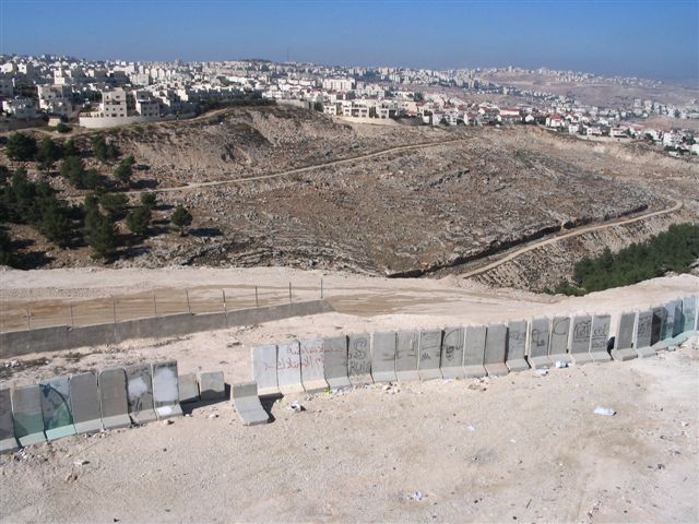 'Anata - عناتا : General view #4 behind the Apartheid Wall