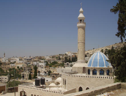 'Anza - عنزه : The new Mosque - View