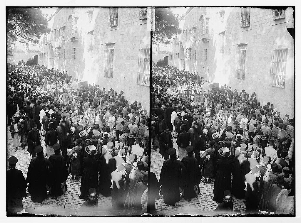 1920 Nebi Musa Riots: Nebi Mussa Procession (Palestine)