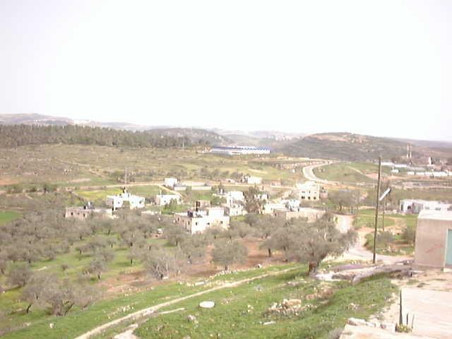 al-Nabi Salih-النبي صالح: الساحة