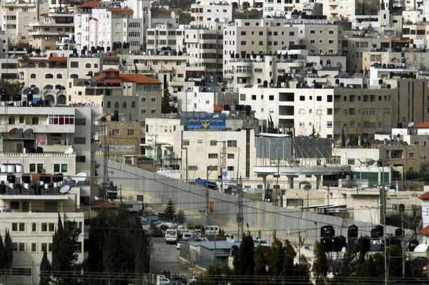 al-Ram - الرامّ : A partial view of the Palestinian village of Al-Ram on the outskirts of Jerusalem.