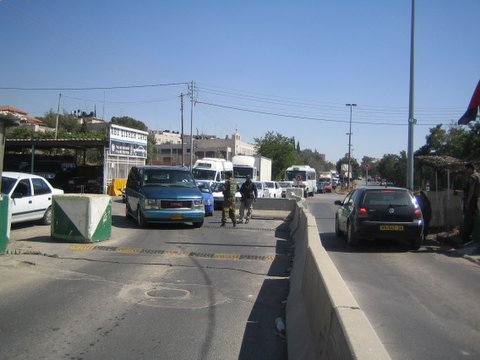 al-Ram - الرامّ : Ar-Ram checkpoint in East Jerusalem