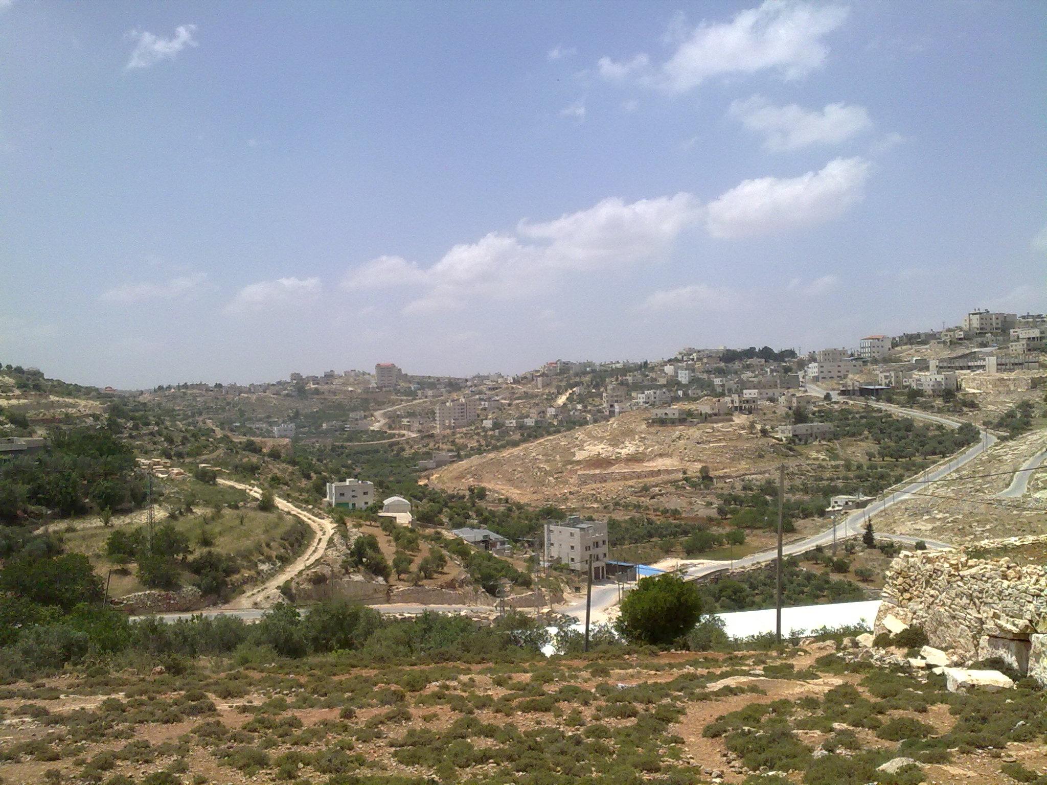 al-Shuyukh-الشيوخ: صوره من منطقه قفان خميس  للبلد