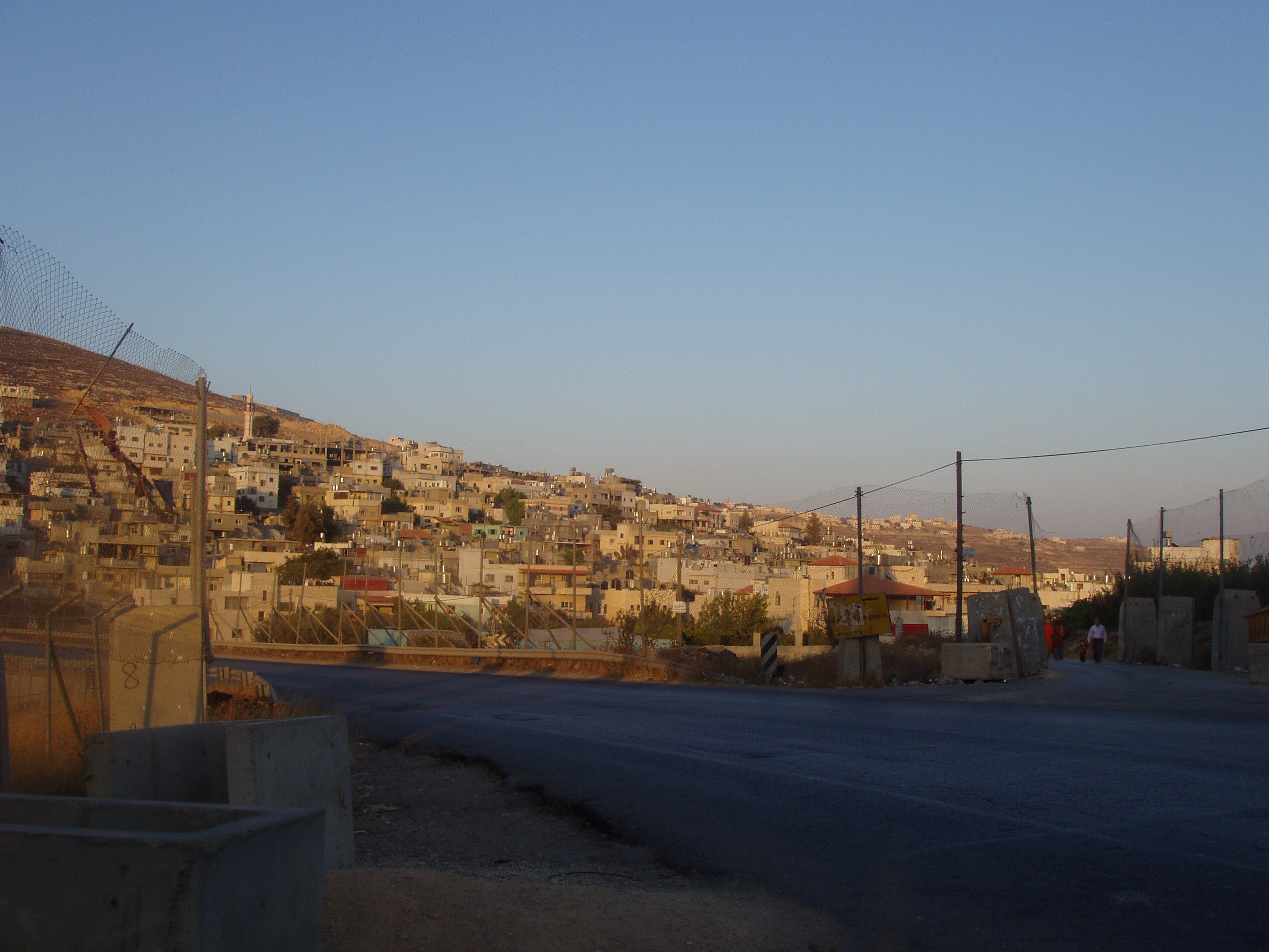 al-'Arrub Refugee Camp - مخيّم العروب : El-Arroub  Entrance from the main road to Hebron