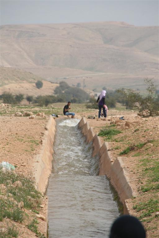 al-'Auja -العوجا: قنوات العوجا ومياهها