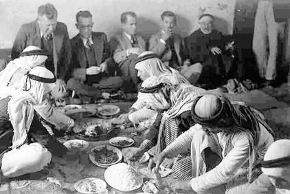 Sabbarin - صبارين : Extremely Rare Picture Taken Inside The House Of <B>Jabri Amin Al-Haj</B>, 1940