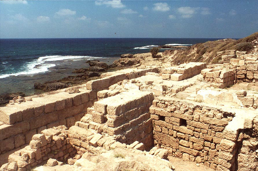 Archeological remains around Tantura (Palestine Remembered)