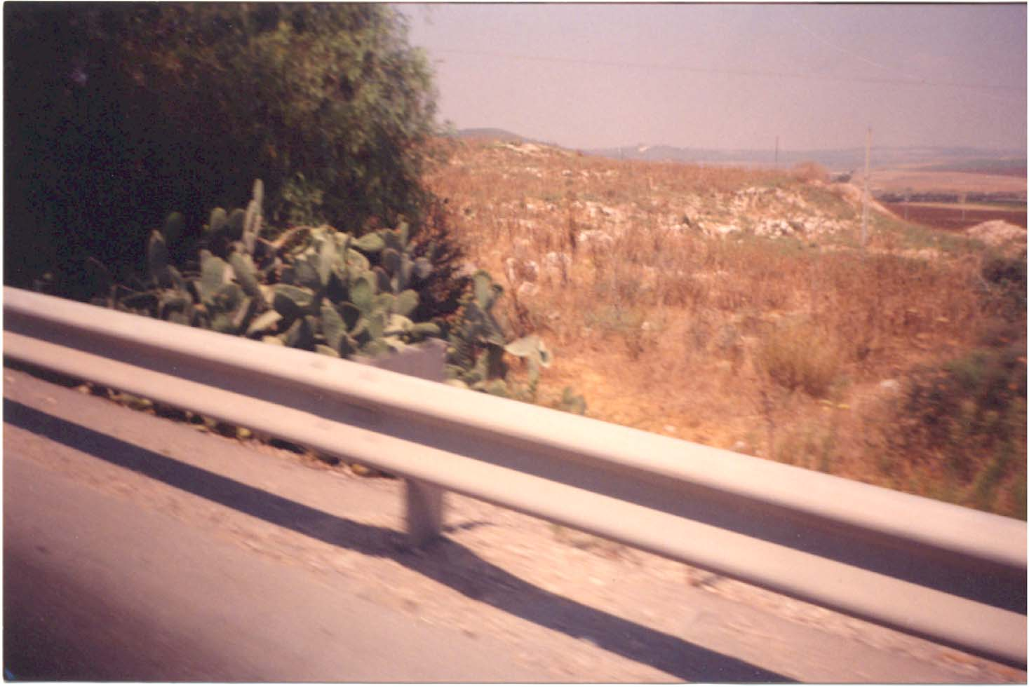 General View Of Ajjur Site, 1990s