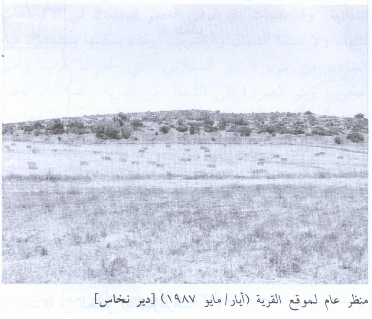 القرى الفلسطينه _دير النحاس