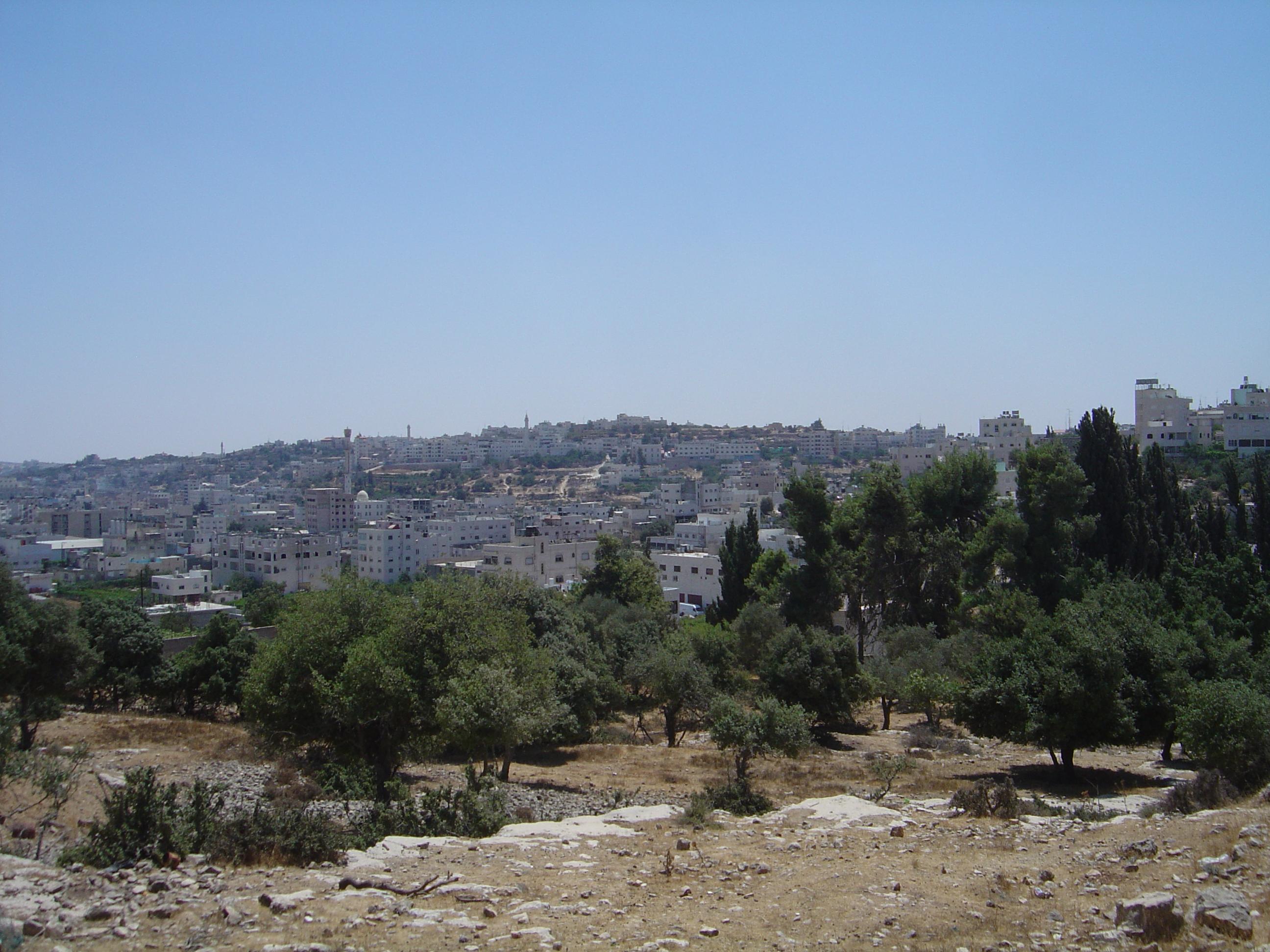 Hebron-الخليل: General View