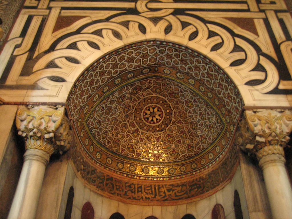 Hebron-الخليل: محراب الجامع الابراهيمي