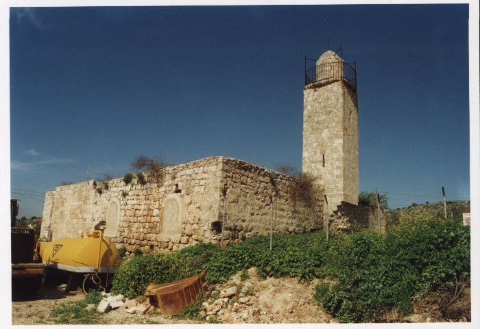 Zakariyya - زكرية : The closed and neglected Zakariyya's Mosque-May-2002