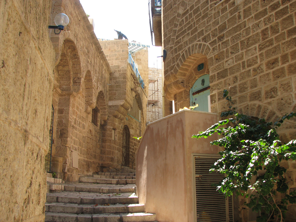 Jaffa - يافا : Alleyway in the old city of Jaffa #1