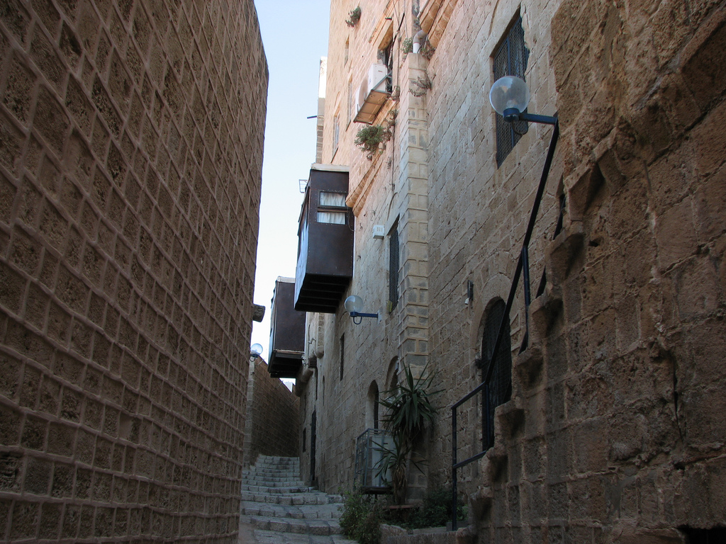 Jaffa - يافا : Alleyway in the old city of Jaffa #2