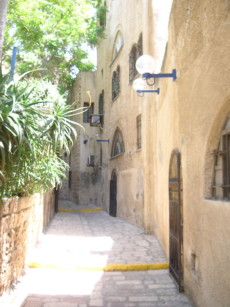 Jaffa - يافا : Allyway in the old city #4