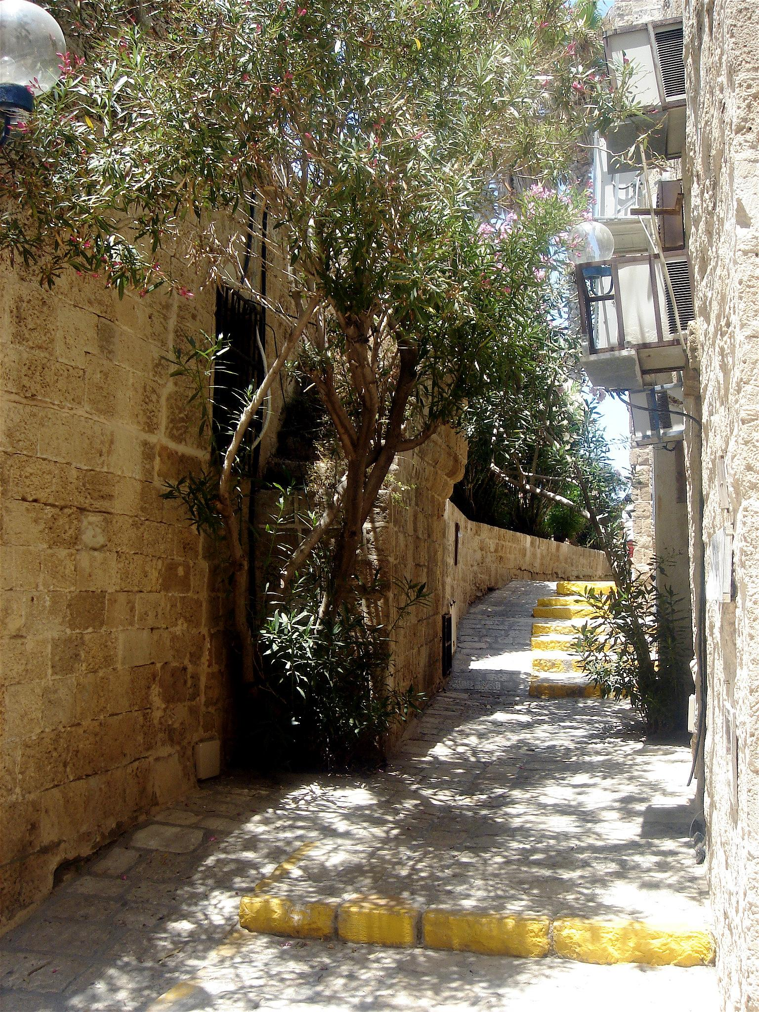 Jaffa - يافا : Inside the renovated old city #2