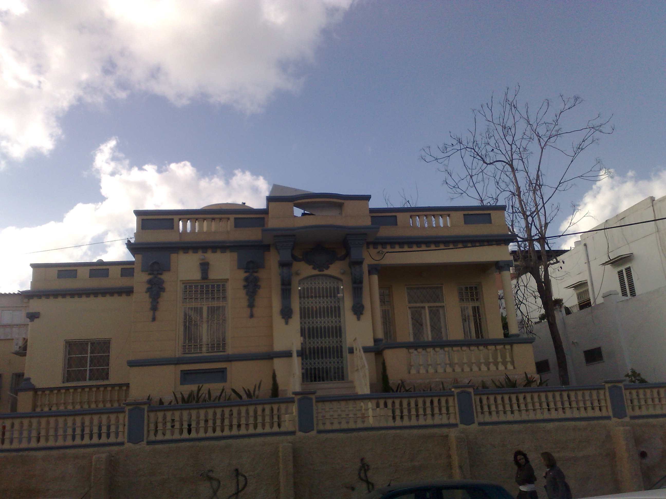 Jaffa - يافا : A house in Jaffa in the street where Ali Sheikh Ali's mansion is