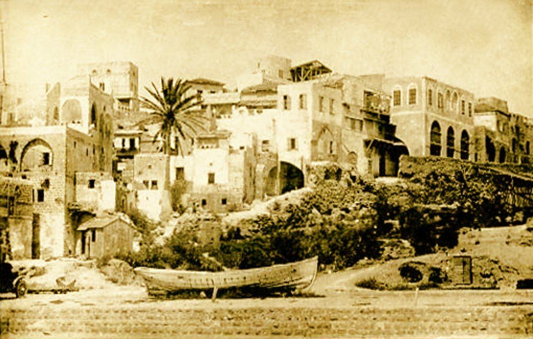 Jaffa - يافا : JAFFA - late 19th, early 20th c. 65 - Partial view, 1918