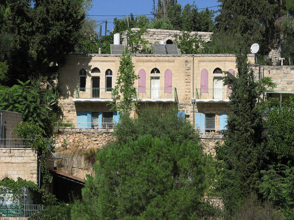 'Ayn Karim - عين كارم : A cluster of looted houses in Ein Karim !!