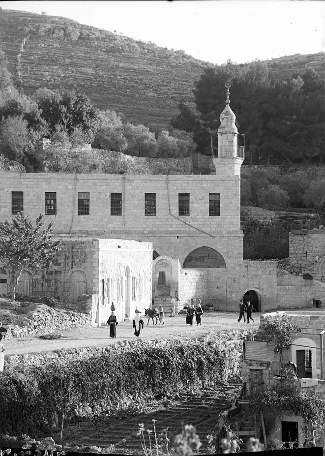 'Ayn Karim - عين كارم : Ayn Karem's Mosque (Matson Collection) 1900-1926