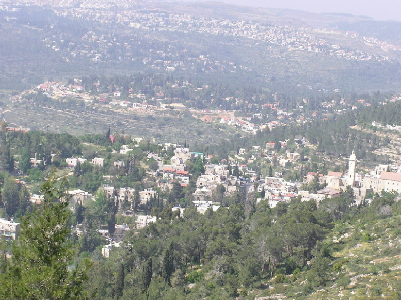 'Ayn Karim - عين كارم : The Beauty Of Ain Karem From Above The Jabal. (Spring 2004)