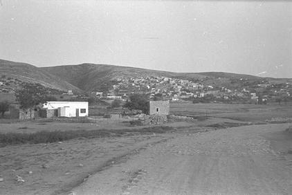Dayr Aban - دير آبان : General View Of Dayr Aban Just Before Occupation, 1948