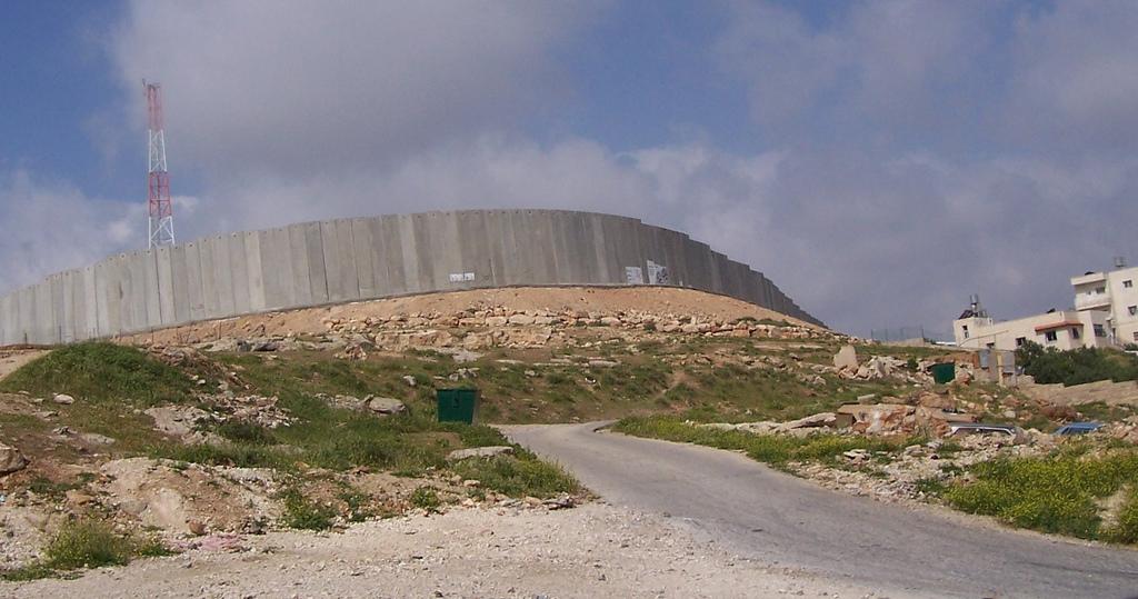 Abu Dis-أبو ديس: The Wall!!! WoW