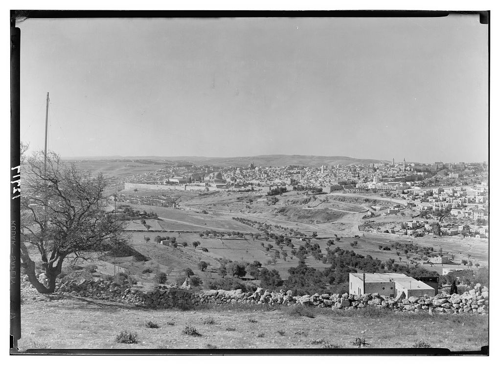 Undated picture for the Old City looking southwest